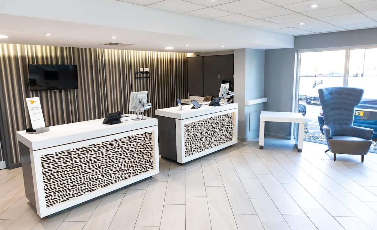 Novotel Wolverhampton new reception