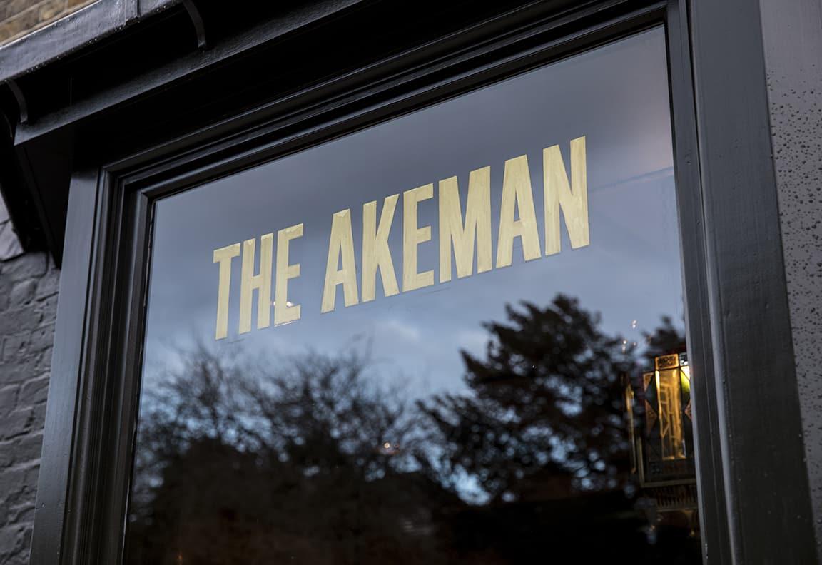 Akeman outside