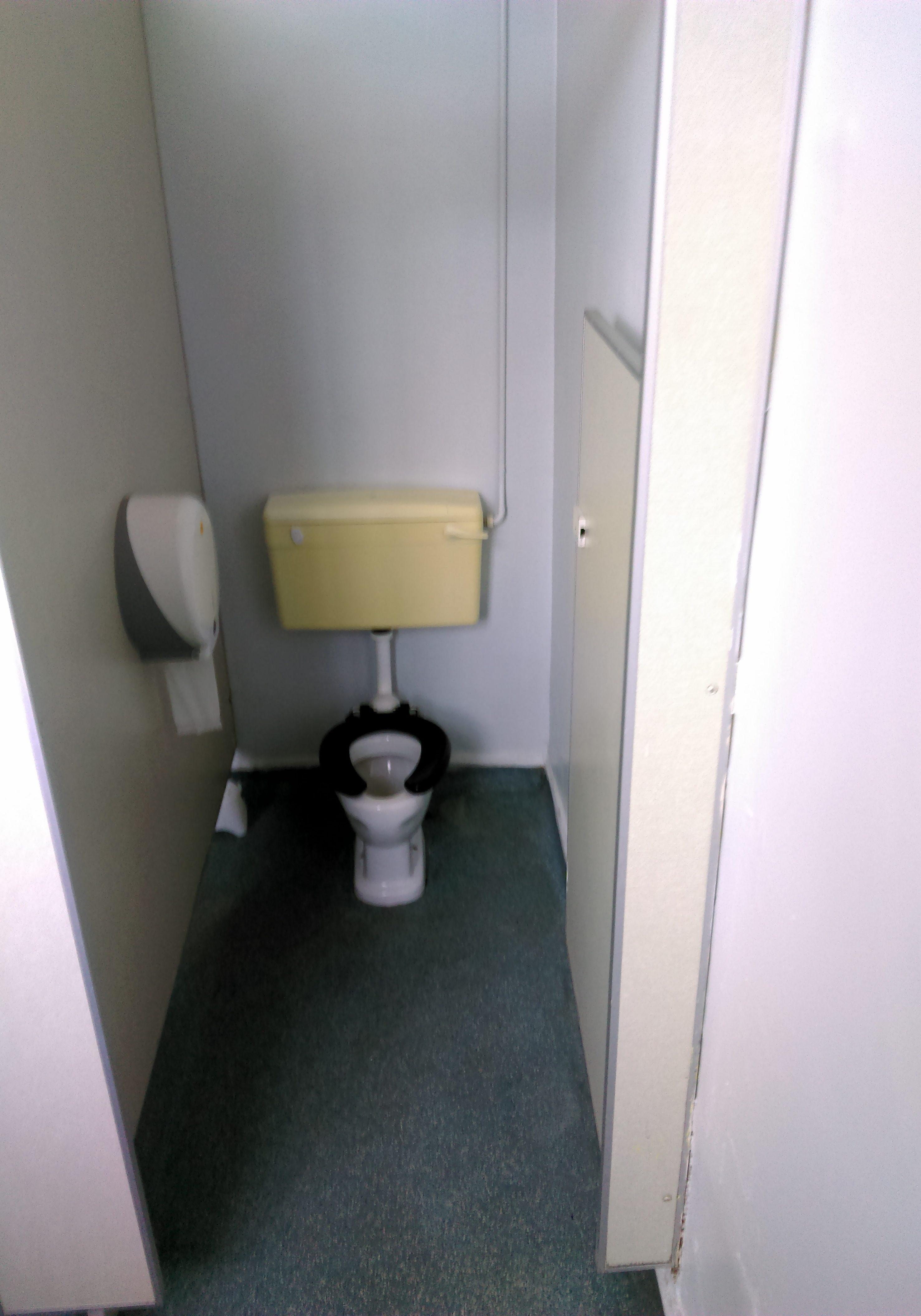 Before toilet
