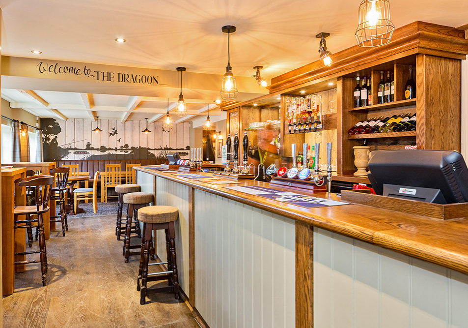 The dragoon brampton bar new